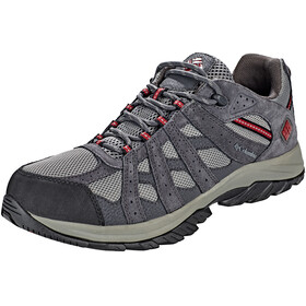 Columbia Canyon Point WP Shoes Men Charcoal/Red Element